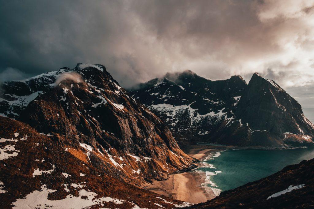Hochzeitsreise für Backpacker in Norwegen